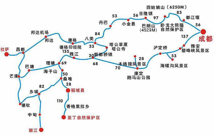 2>大香格里拉环线