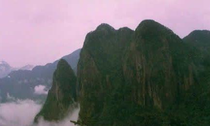 九龙山风景区位于遂昌西南部